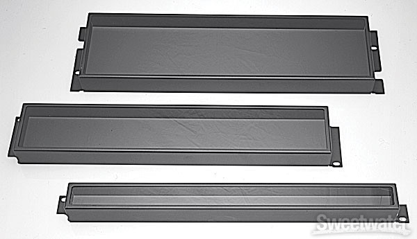 Middle Atlantic Products SL-1 Security Cover - 1 Rack Space image 1