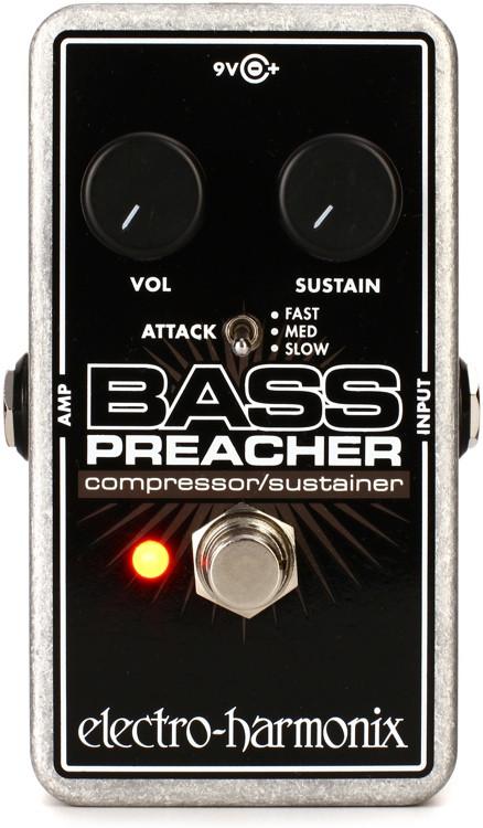 Electro-Harmonix Bass Preacher Compression / Sustainer Pedal image 1