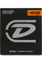 Dunlop DBN40120 Nickel Plated Steel Light 5-String Bass Strings