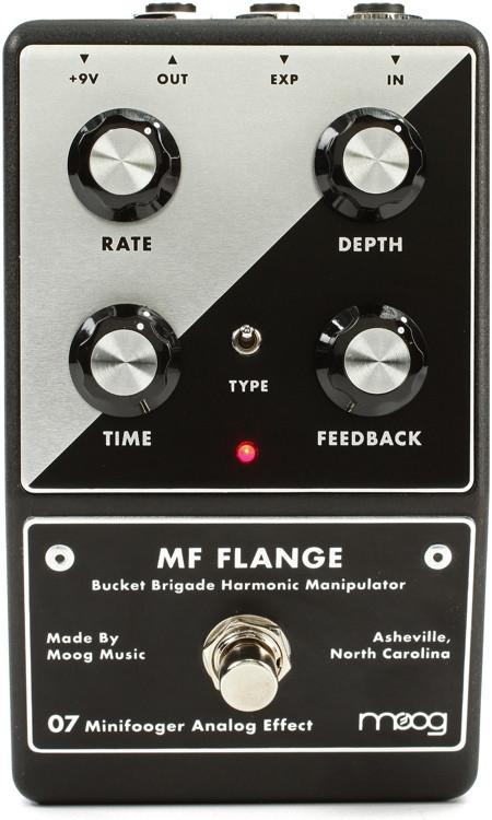 Moog Minifooger Flanger Pedal image 1
