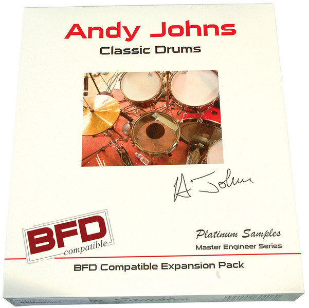 Platinum Samples Andy Johns Classic Drums image 1