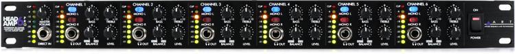 ART HeadAmp6Pro 6-Ch Headphone Amplifier image 1