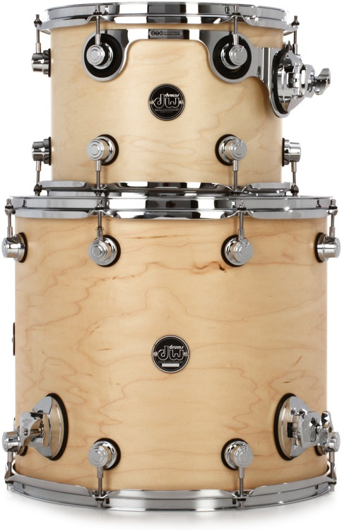 DW Performance Series 2-piece Tom Pack - Natural Satin Oil image 1