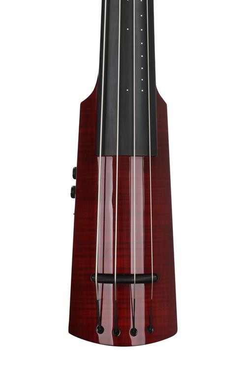 NS Design WAV4 Double Bass - Transparent Red image 1