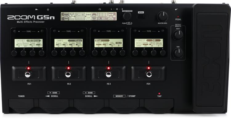 Zoom G5n Multi-effects Processor image 1