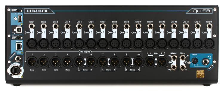 Allen & Heath Qu-SB Portable Digital Mixer image 1