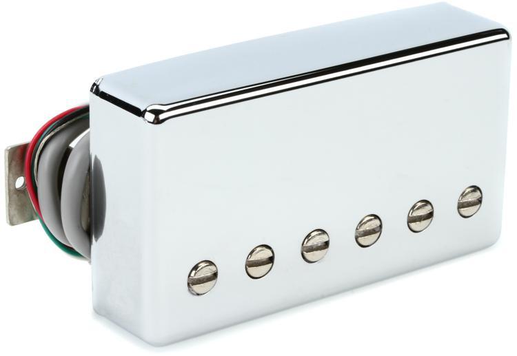 Gibson Accessories 498T Hot Alnico Pickup - Chrome, Bridge, 4-Conductor image 1