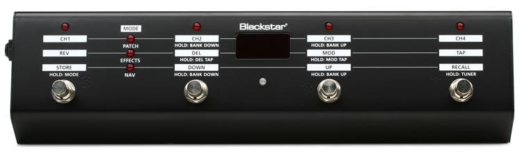 Blackstar IDFS10 Multi Function Footswitch for ID Series Amps image 1