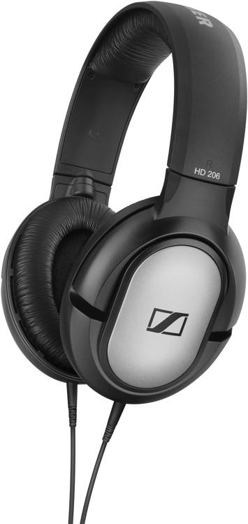 Sennheiser HD 206 Lightweight Closed-back Over-ear Headphones image 1