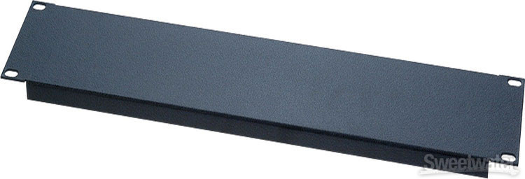 Raxxess SFG-4 Flanged Steel Rack Panel - 4U image 1