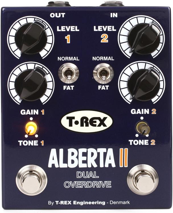 T-Rex Alberta II Dual Overdrive Pedal image 1
