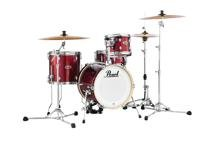 Pearl Midtown Complete Drumset Package - Black Cherry Glitter