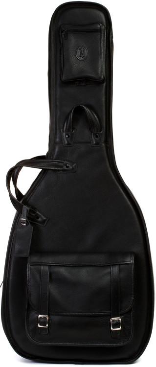 Levy\'s Leather Acoustic Guitar Gig Bag - Black image 1