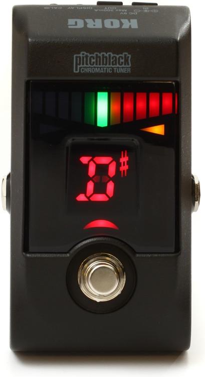 Korg Pitchblack Guitar Pedal Tuner - Black image 1