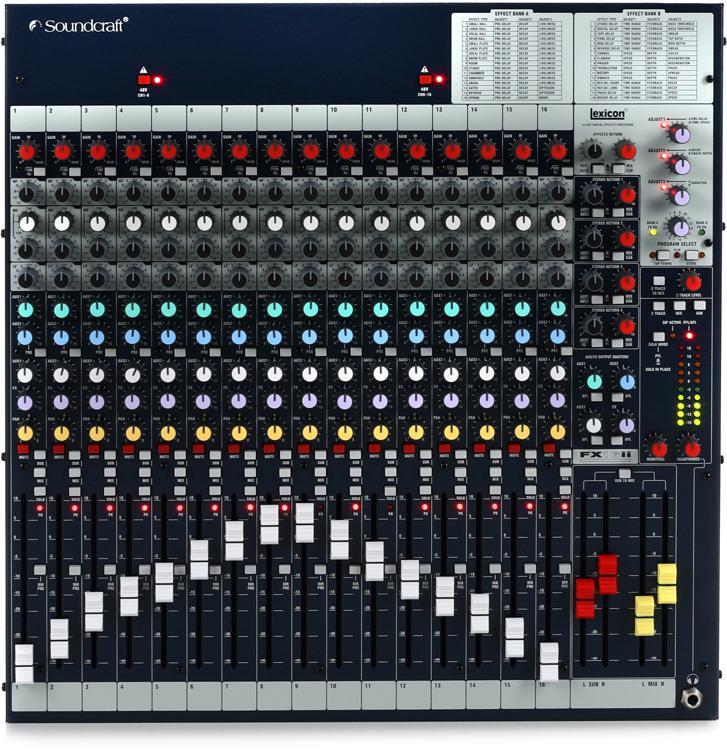 Soundcraft FX16ii image 1