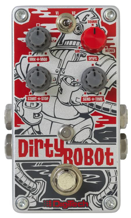 DigiTech DirtyRobot Stereo Mini Synth Pedal image 1