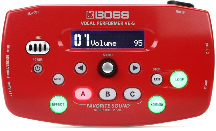 Boss VE-5 - Red image 1