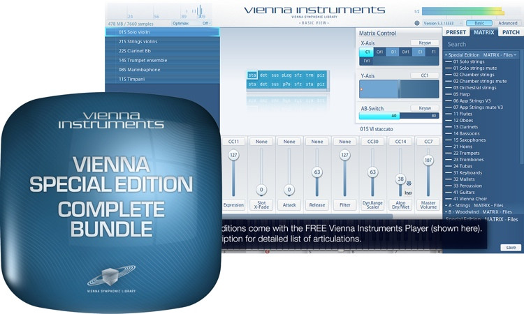 Vienna Symphonic Library Special Edition Complete Bundle image 1
