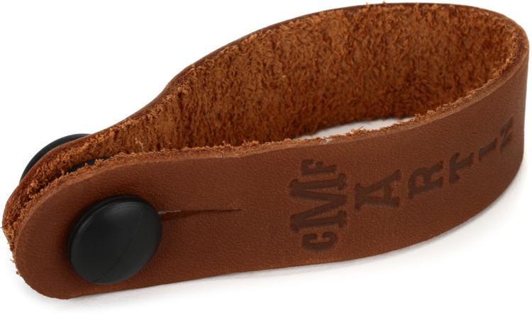 Martin Headstock Strap Tie - Brown image 1