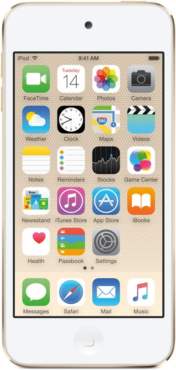 Apple iPod touch - 64GB - Gold image 1