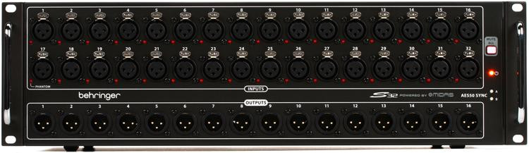 Behringer S32 32-channel Stage Box image 1