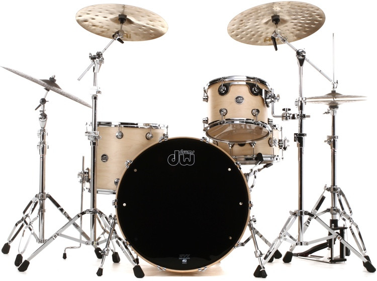 DW Performance Series 4-piece Shell Pack with Snare Drum - 24