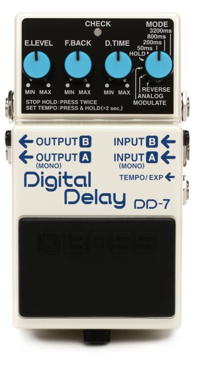 Boss DD-7 Digital Delay Pedal image 1