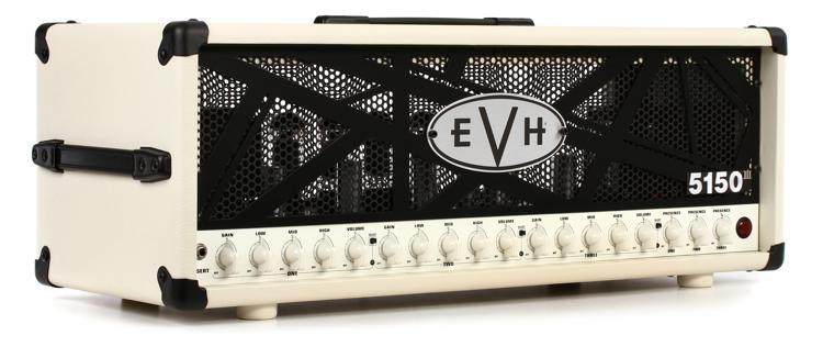 evh 5150 iii 100 watt tube head ivory sweetwater. Black Bedroom Furniture Sets. Home Design Ideas