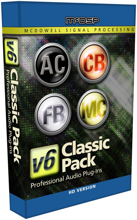 McDSP Classic Pack HD v6 Plug-in Bundle image 1