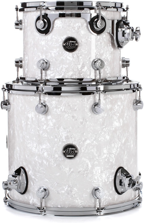 DW Performance Series 2-pc Tom Pack - White Marine Finish Ply image 1