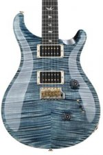 PRS Custom 24 10-Top - Faded Whale Blue with Pattern Thin Neck