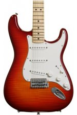 Fender Standard Stratocaster Plus Top - Aged Cherry Burst with Maple Fingerboard