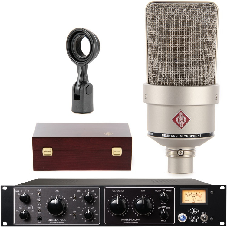 Neumann TLM 103N with Universal Audio LA-610 Mk II image 1