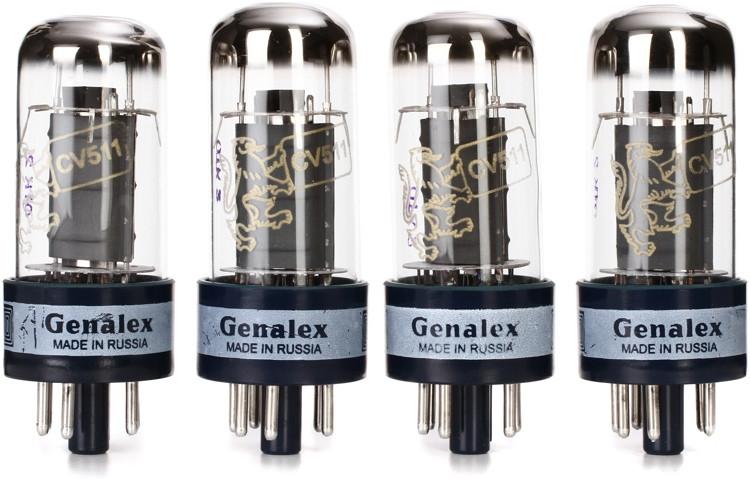 Genalex Gold Lion 6V6GT Power Tubes - Matched Quartet image 1