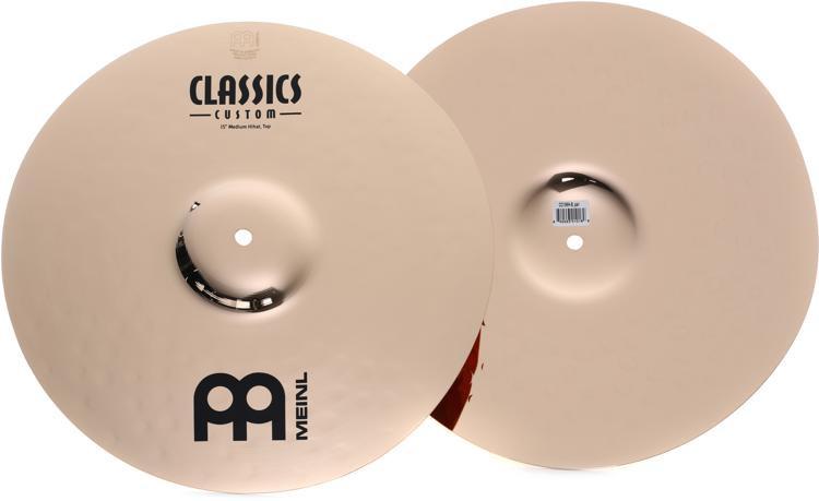 Meinl Cymbals Classics Custom Medium Hi-hats - 15