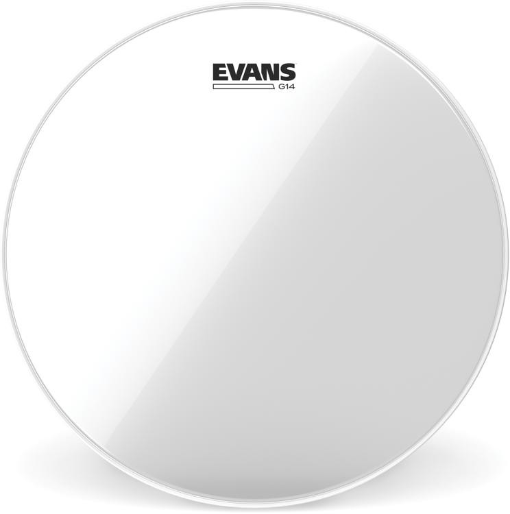 Evans G14 Clear Drum Head - 18