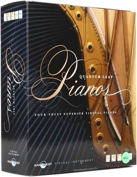 EastWest Quantum Leap Pianos - Platinum Edition (Mac hard drive) image 1