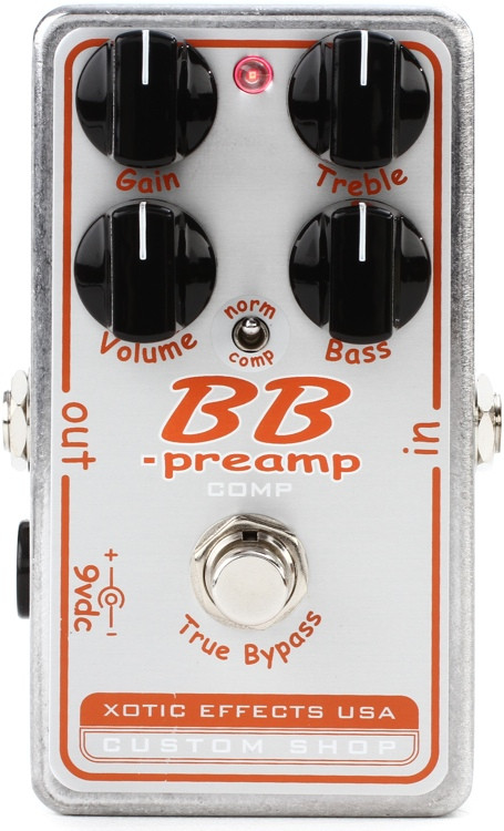 Xotic Custom Shop BB-Preamp Comp Pedal image 1