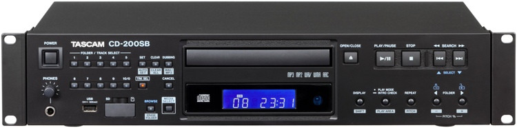 TASCAM CD-200SB CD / SD / USB Player image 1