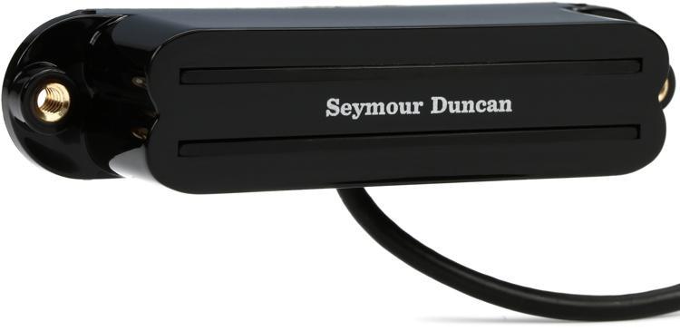 Seymour Duncan SHR-1b Hot Rails Strat Pickup - Black Bridge image 1