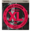 D'Addario ENR71 XL Half Round Semi-Flat Wound Long Scale Bass Strings
