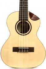Kala Scallop Series Tenor Ukulele - Solid Spruce and Rosewood - Gloss