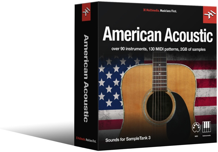 IK Multimedia American Acoustic SampleTank 3 Sound Library image 1