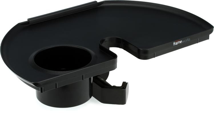 Gator Frameworks GFW-MICACCTRAY Microphone Stand Accessory Tray image 1
