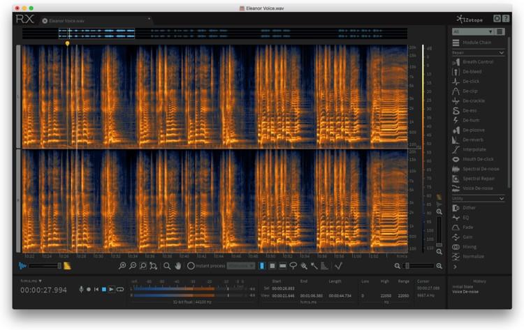 RX 6 Audio Editor