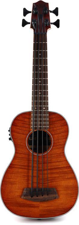Kala U-Bass, Fretted - Exotic Mahogany image 1