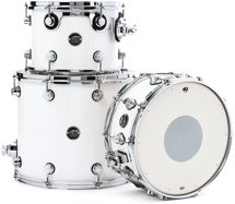 DW Performance Series 3-piece Tom/Snare Pack - White Ice Lacquer