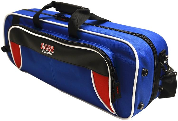 Gator GL-TRUMPET-RB - Lightweight Trumpet Case, Red & Blue image 1