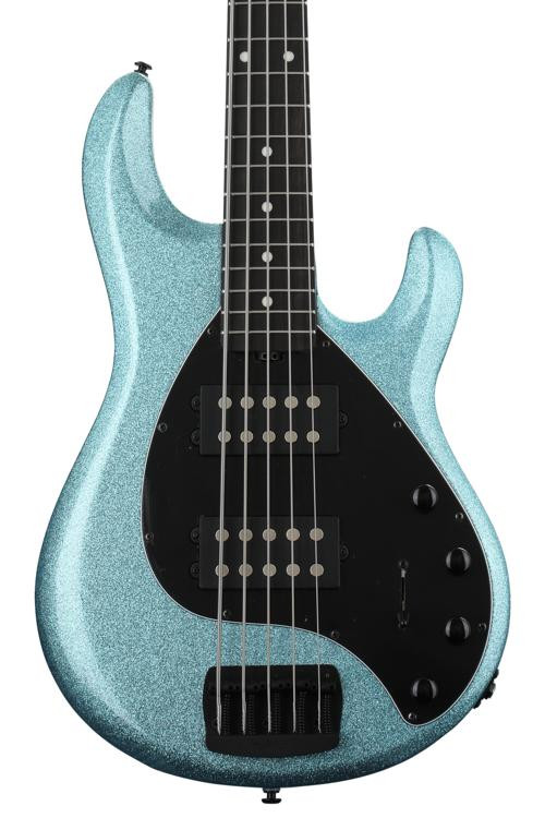 ernie ball music man stingray special 5hh aqua sparkle with ebony fingerboard sweetwater. Black Bedroom Furniture Sets. Home Design Ideas