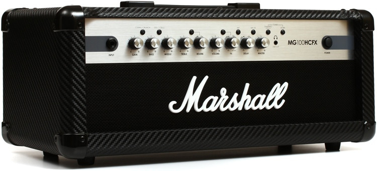 Marshall MG100HCFX 100-watt 4-channel Head with Effects image 1